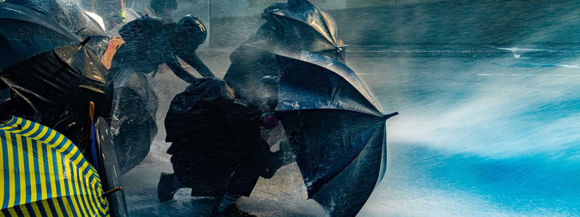 Depuis l'été 2019, des manifestations de masse pour plus de démocratie et contre l'influence croissante de la Chine dans la région administrative spéciale chinoise de Hong Kong ont été organisées et sont réprimées par les autorités. © Isaac Yeung / shutterstock.com
