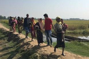 Les forces de sécurité prennent pour cible les Rohingyas