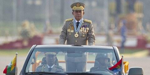 Le général Min Aung Hlaing. © AFP/Getty Images