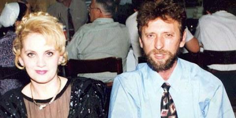 Remzi Hoxha avec son épouse. © DR
