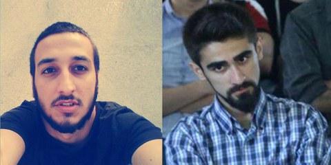 Bayram Mammadov (à gauche) et Giyas Ibrahimov (à droite) © Droit réservé (Photo gauche) / SANCAQ Production (Photo droite)