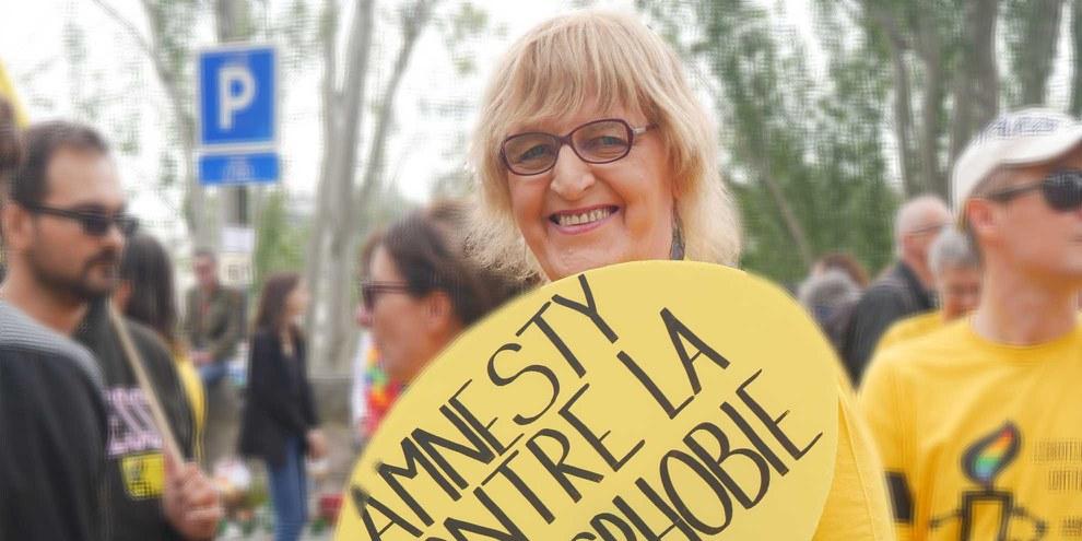 Émilie Dumont © Amnesty International