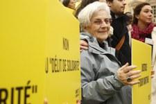 Une retraitée qui a aidé des mineurs réfugiés relaxée