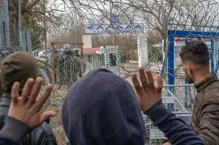 Demandeurs d'asile et migrants tués et maltraités aux frontières