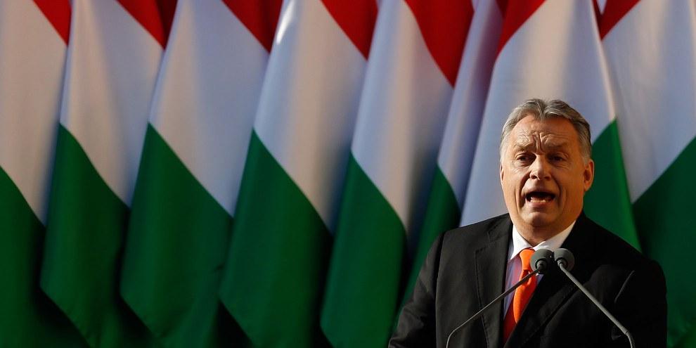 Sous le gouvernement de Viktor Orbán, les droits humains n'ont cessé de se dégrader au cours des dernières années en Hongrie. © 2018 Getty Images