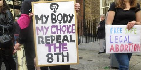 Une marche féministe à Dublin en 2014 © Amnesty International
