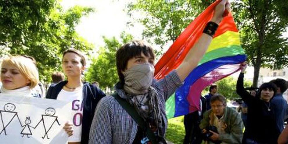 Si la loi est promulgée, les manifestations LGBTI seront supprimées partout où des enfants pourraient être présents. © Charles Meacham/Demotix