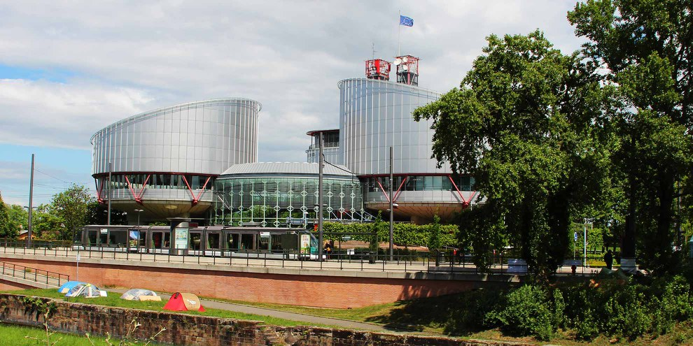 Cour européenne des droits de l'homme à Strasbourg © Amnesty International