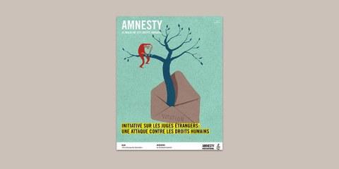 Initiative sur les juges étrangers: une attaque contre les droits humains