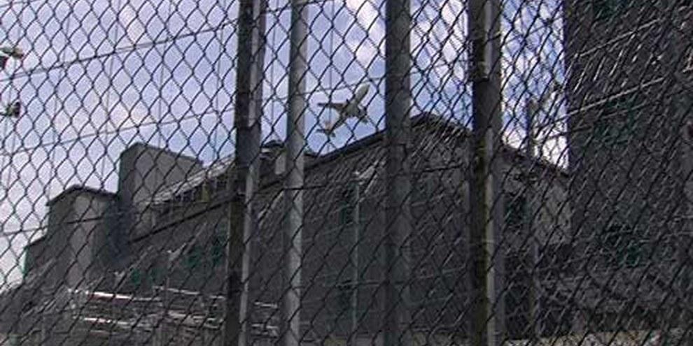 La prison de l'aéroport de Zurich. © Kairos Film / aproposfilm
