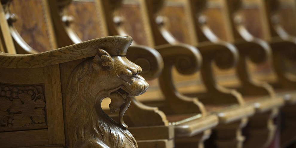 De grands défs en matière de droits humains attendent les Parlementaires qui prennent place sur ces sièges © parlament.ch