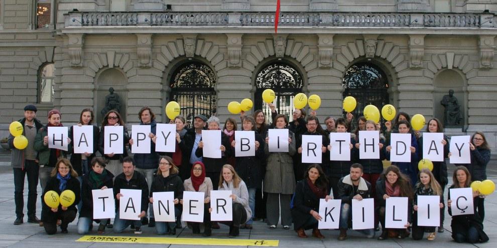 Taner Kılıç – un anniversaire derrière les barreaux