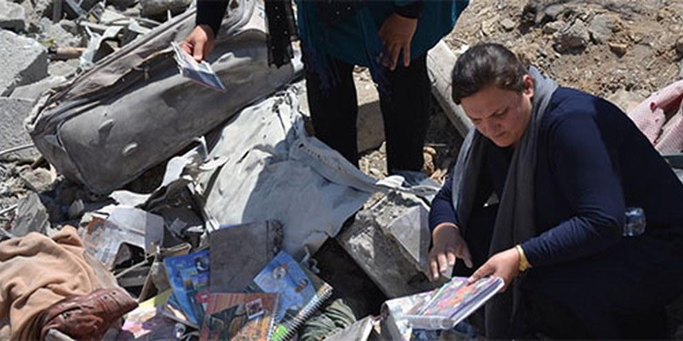 Les éléments recueillis par Amnesty International au village de Zergele laissent penser que les personnes tuées et blessées dans l'attaque n'étaient pas en lien avec le PKK.   © Amnesty International