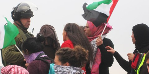 Manifestation à Nabi Saleh © Amnesty International
