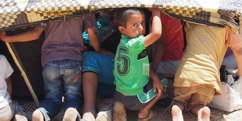 Réfugiés syriens en Turquie. © AI