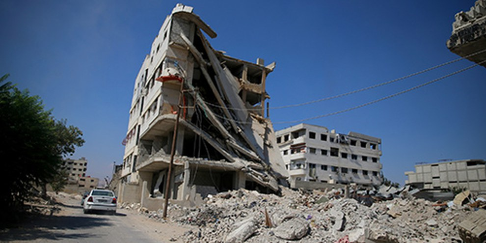 Les récentes attaques au gaz ont coûté la vie à des civils et montrent que les forces syriennes commettent des crimes de guerre en toute impunité. © Mohammed Abdullah