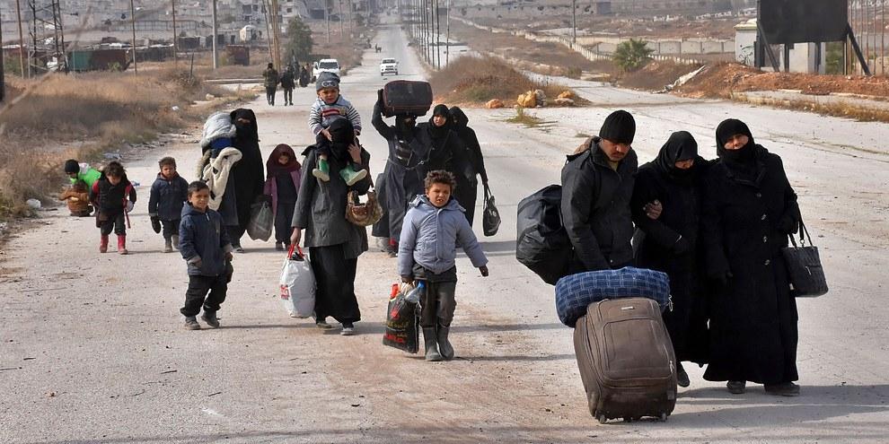 La guerre en Syrie a entraîné des souffrances inimaginables pour la population civile. © GEORGE OURFALIAN/AFP/Getty Images