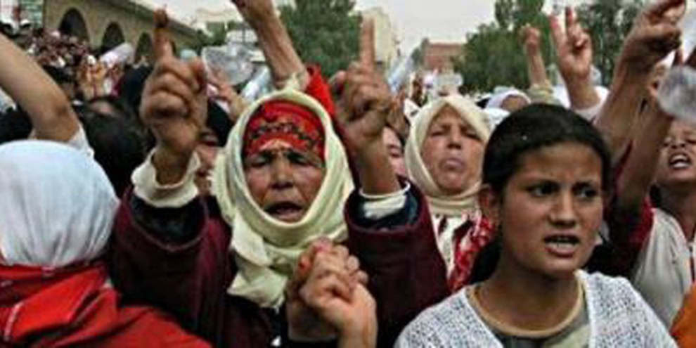 Les autorités tunisiennes n'ont pas tiré les leçons de leur gestion des manifestations de Gafsa en 2008 © DR