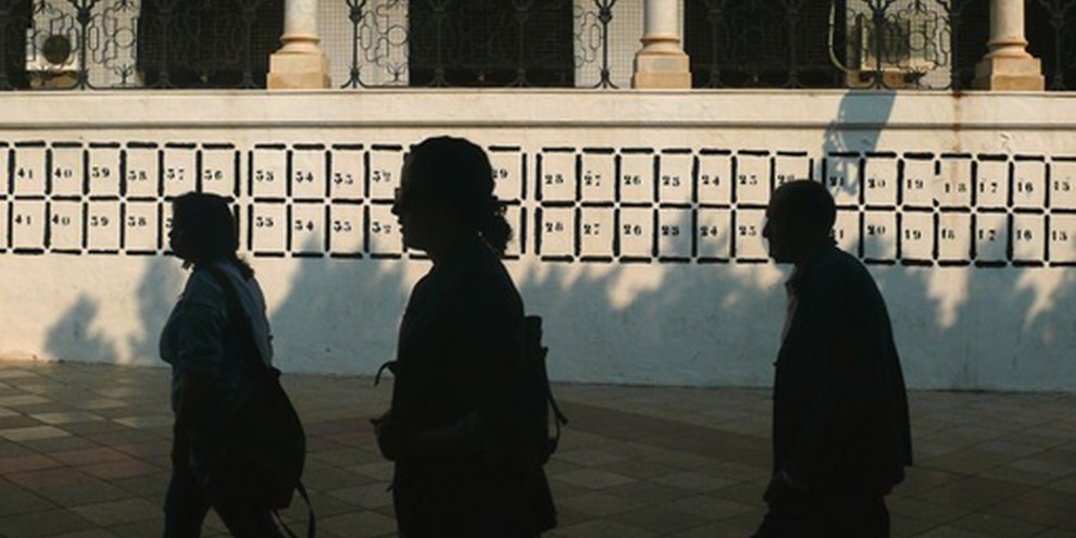 La campagne d'élection a commencé à Tunis. © Hamideddine Bouali/Demotix