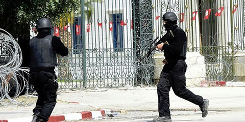 L'attaque perpétrée dans un musée de la capitale tunisienne a fait au moins dix-neuf morts, dont deux Tunisiens et des ressortissants italiens, espagnols, polonais et allemands.© FETHI BELAID/AFP/Getty Images
