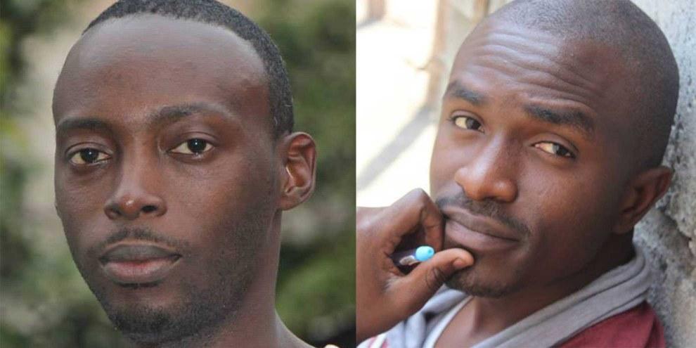 Fred Bauma und Yves Makwambala © Lucha