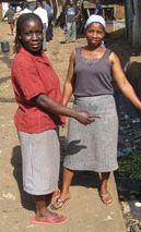 La situation des femmes est devenue intenable dans les bidonvilles de Nairobi, à tel point qu'elles se retrouvent prisonnières dans leurs propres foyers par peur de sortir et d'être victimes de violence. © AI