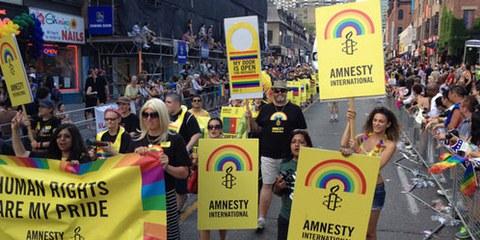 Les droits LGBTI sont des droits humains