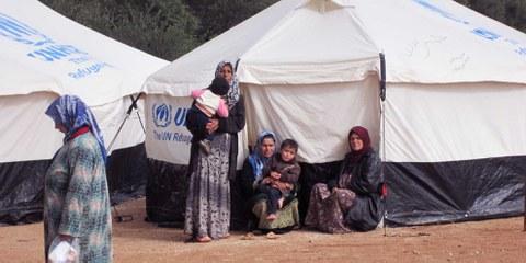 Femmes réfugiées
