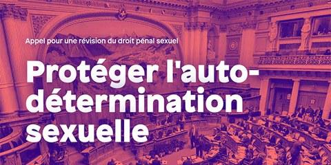 Appel pour une révision du droit pénal sexuel
