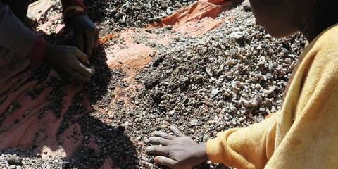 Travail des enfants dans les mines de cobalt