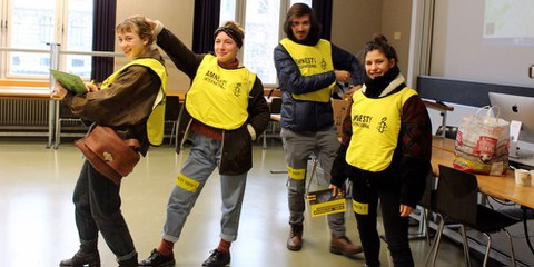 Rencontres AMNESTY YOUTH