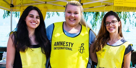 Fonder un groupe Amnesty