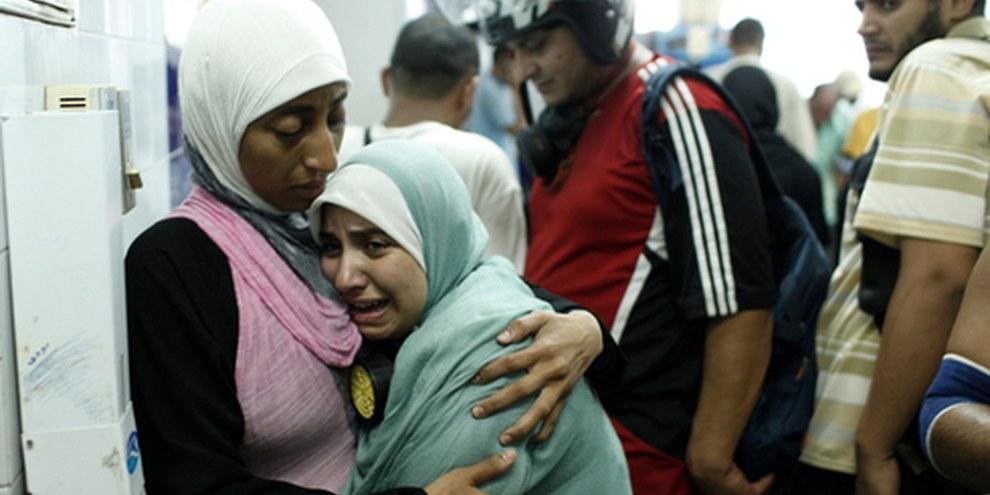 Una sostenitrice del deposto presidente Morsi in un ospedale del Cairo, 14 agosto 2013 © Ed Giles/Getty Images