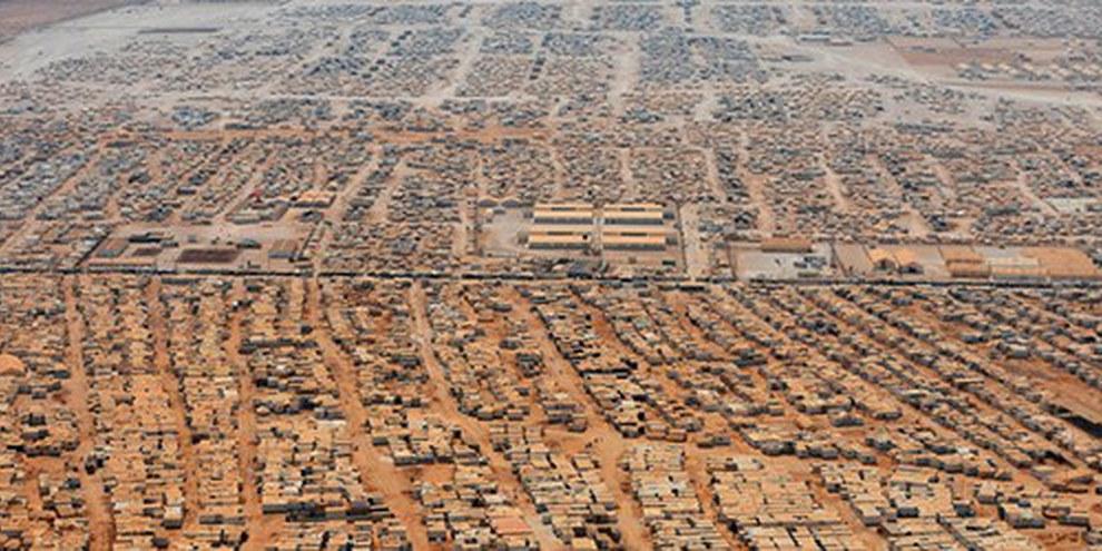 Il campo rifugiati Za'atri   © REUTERS/Mandel Ngan