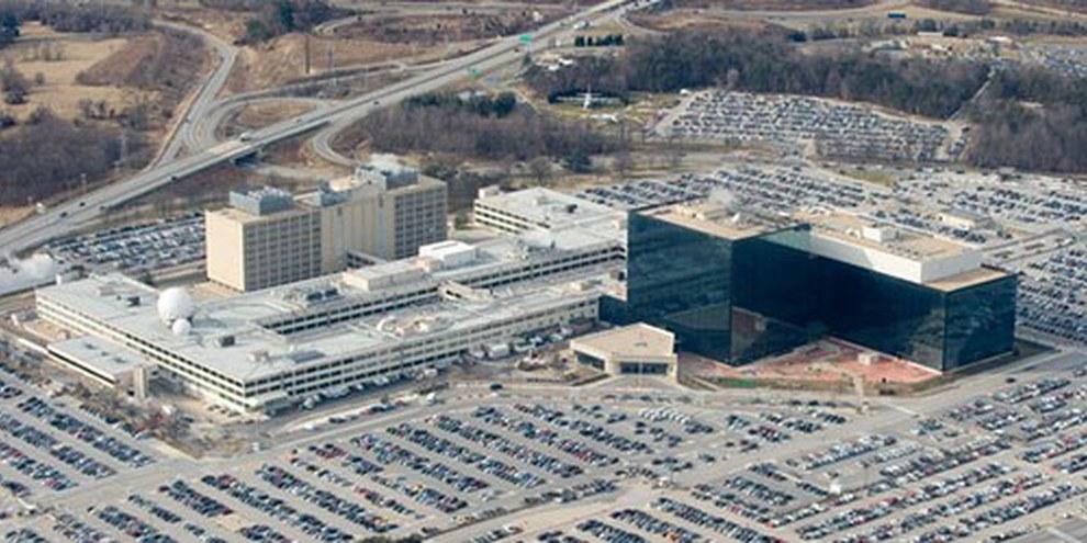 La sede della NSA a Fort Meade, Maryland.   © Saul Loeb/AFP/Getty Images