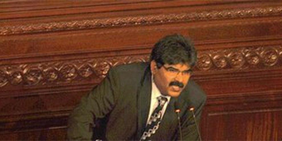 Il leader dell'opposizione assassinato, Mohamed Brahmi © Samir ABDELMOUMEN/Commons