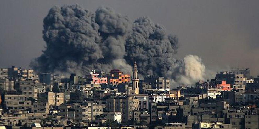 Bombardamenti a Gaza | © EPA/MOHAMMED SABER