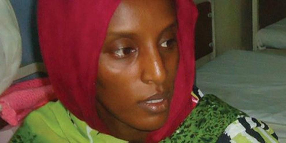 Meriam Ibrahim, una sudanese condannata a morte per apostasia  | © AFP/Getty Images