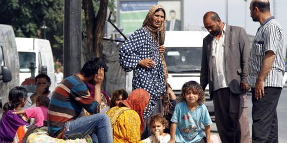 Non chiudiamo la porta ai rifugiati siriani  © EPA