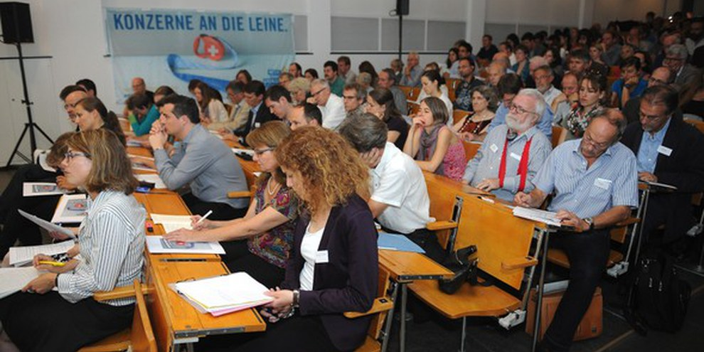 Il contenuto centrale dell'iniziativa è di natura preventiva: un dovere di diligenza ragionevole in materia di diritti umani e d'ambiente © Droits sans frontières