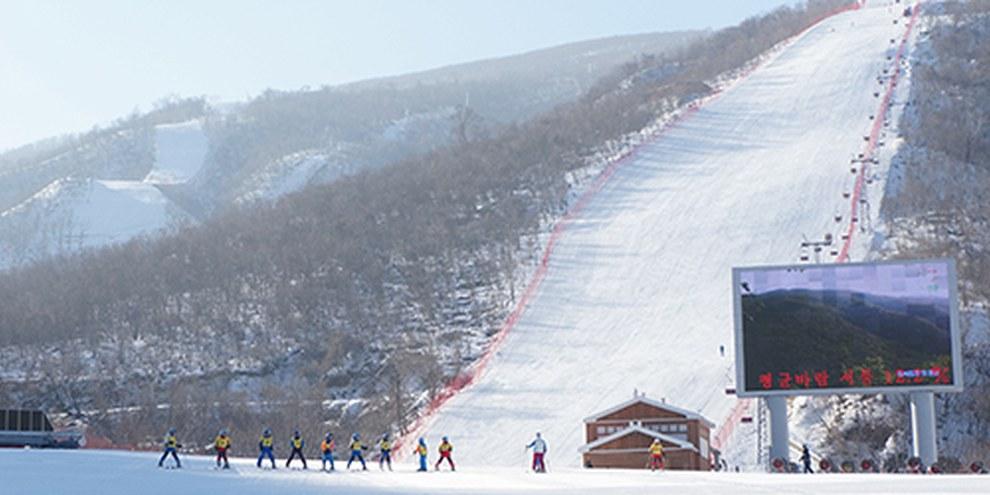 La Corea del Nord ha investito massicciamente nella stazione sciistica di Mikryong, inaugurata nel 2014 © Uri Tours / Creative Commons
