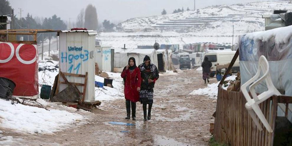 Attualmente il governo libanese accoglie ufficialmente 546'000 siriani. Ma 500'000 altri non sono ancora stati registrati dalle Nazioni Unite. © REUTERS/Jamal Saidi