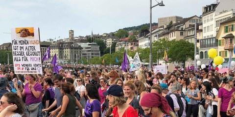 La mobilitazione storica per i diritti delle donne © Amnesty International