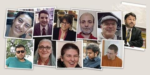 """Il gruppo di attivisti : quattro di loro sono stati condannati dalla giustizia turca per """"appartenenza a un'organizzazione terroristica"""" senza alcuna prova."""